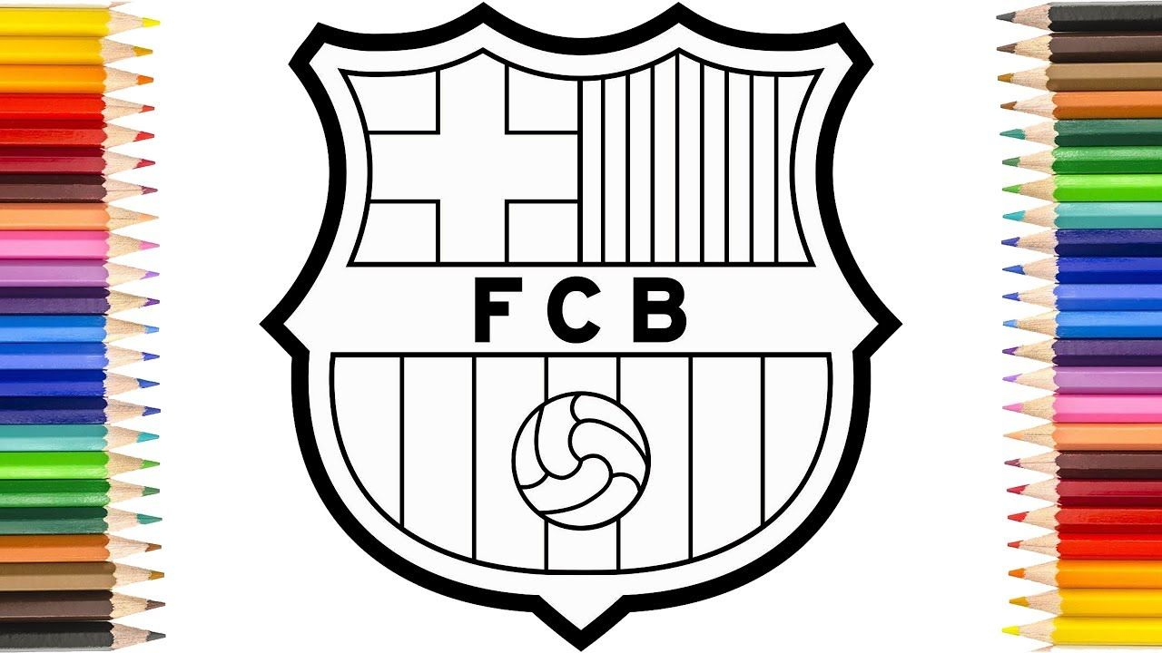Epingle Sur How To Draw Fc Barcelona Badge Drawing The Barca