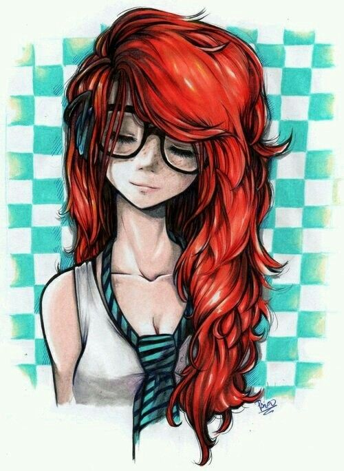 luv cool red hair styles