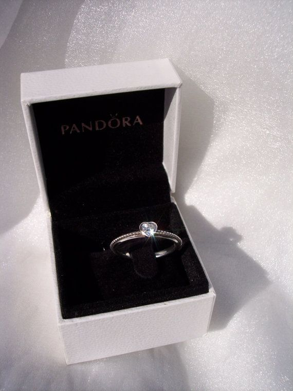 One Love Clear CZ Genuine Pandora Sterling Silver by JEWELSELAGANT ...
