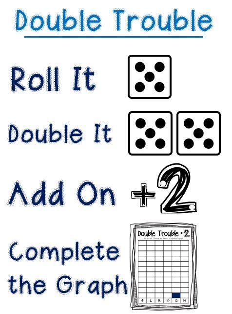 Double Trouble Instructionsg 476642 Pixels Education Pinterest