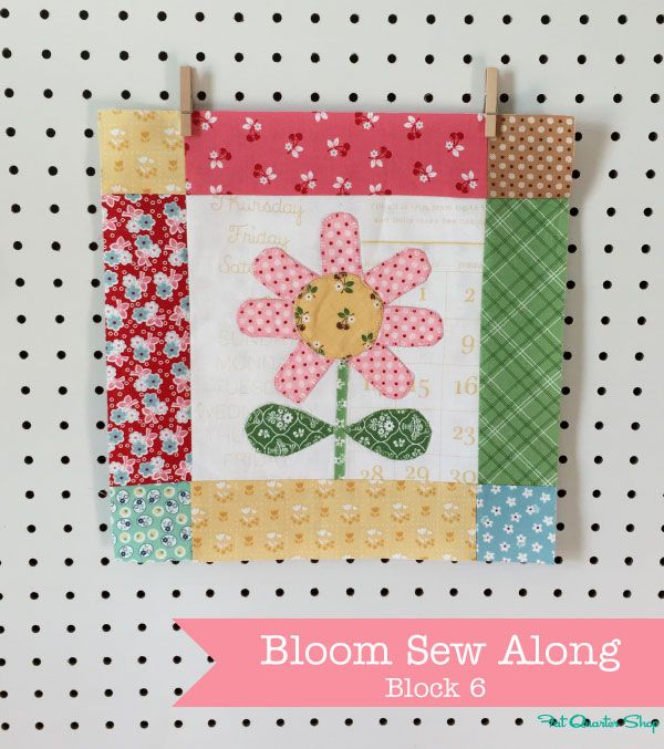 Bloom Blocks: March Bloom Sew Along Recap with Lori Holt of Bee in my Bonnet - Fat Quarter Shop's Jolly Jabber