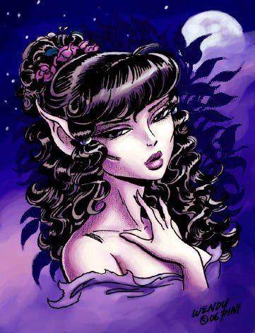 Epingle Par Patricia Huisman Sur Elfquest Elfe Vampires Halloween