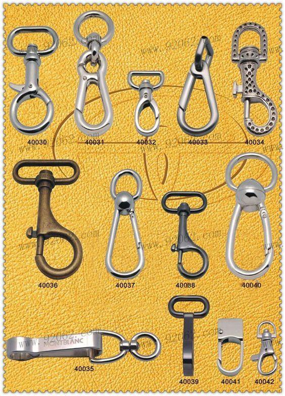 Purse Hardware Swivel Clasp Hook for Bags Swivel Hooks Swivel Snap Hook 12 Nickel Hardware Bag Hardware Handbag Hardware
