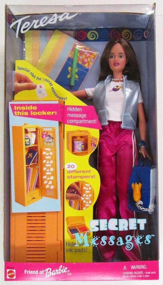 Details about Secret Message Teresa Doll (Friend of Barbie) (NEW) in