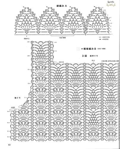 Pineapple stitch crochet sweater diagrams diy enthusiasts wiring pineapple crochet lace diagrams wiring library u2022 rh cadila zydus com crochet top diagram pattern japanese ccuart Choice Image