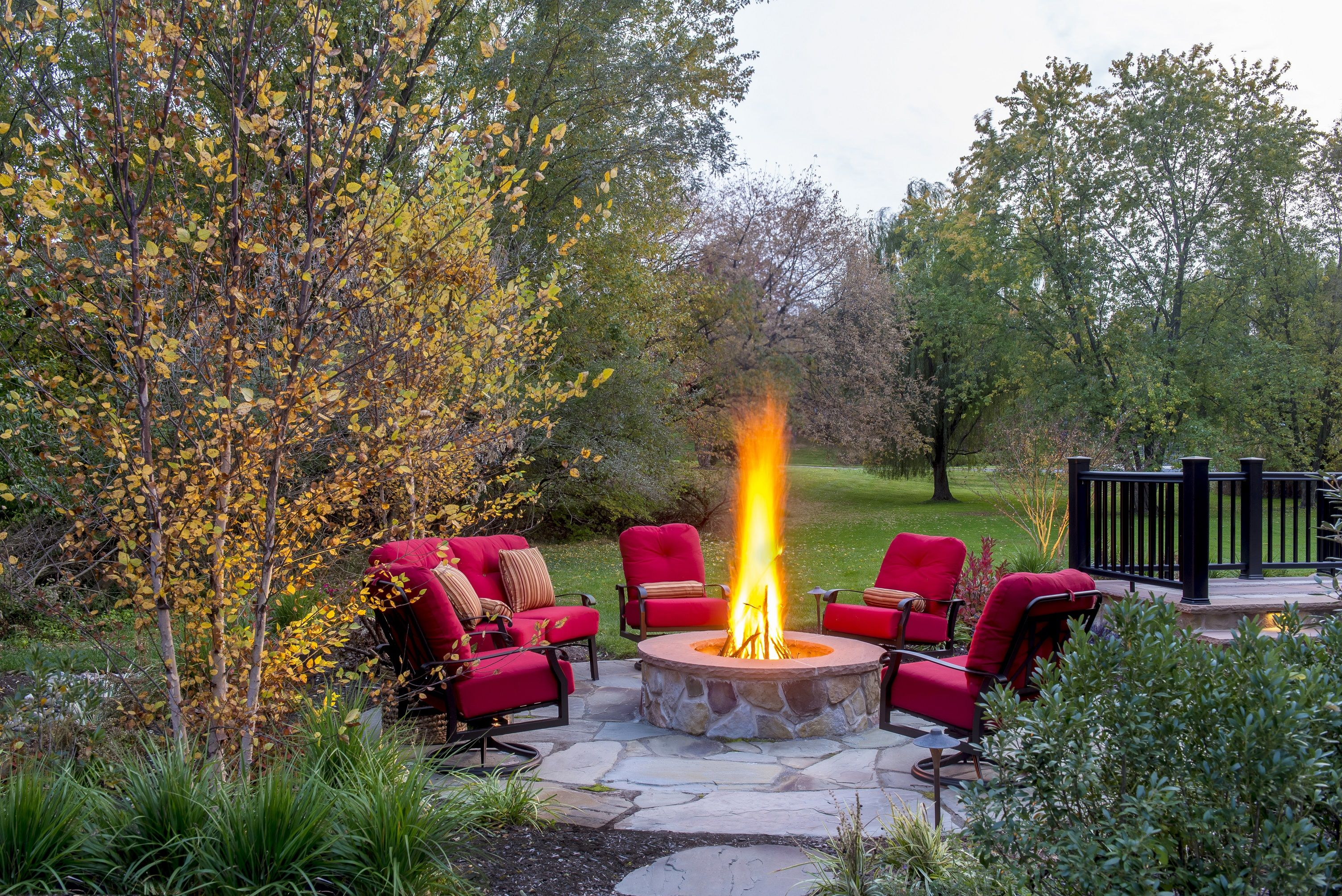 Fire Pit By Gasper Landscape Design And Construction Firepit