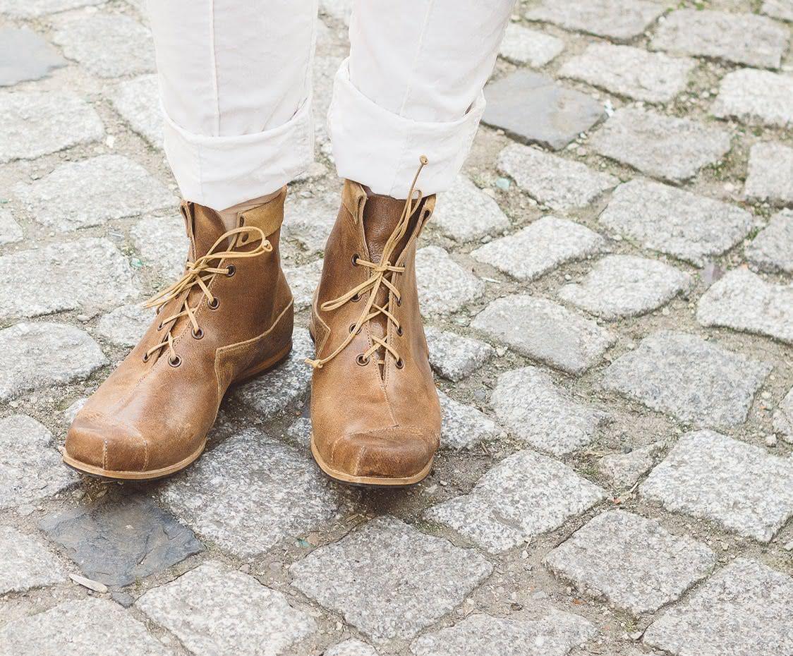 CYDWOQ, Damen Stiefelette Boundary, hellbraun | Stiefeletten