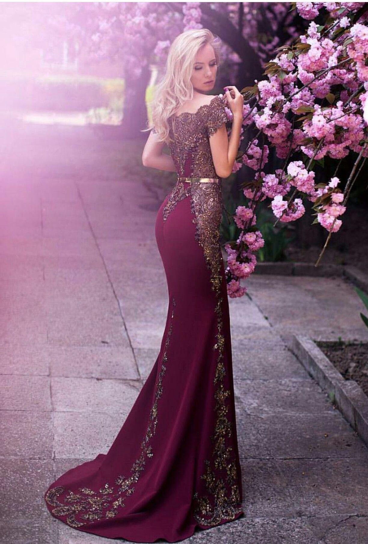 Beautiful Gown.   Fashion❤   Pinterest   Vestiditos, Vestidos de ...