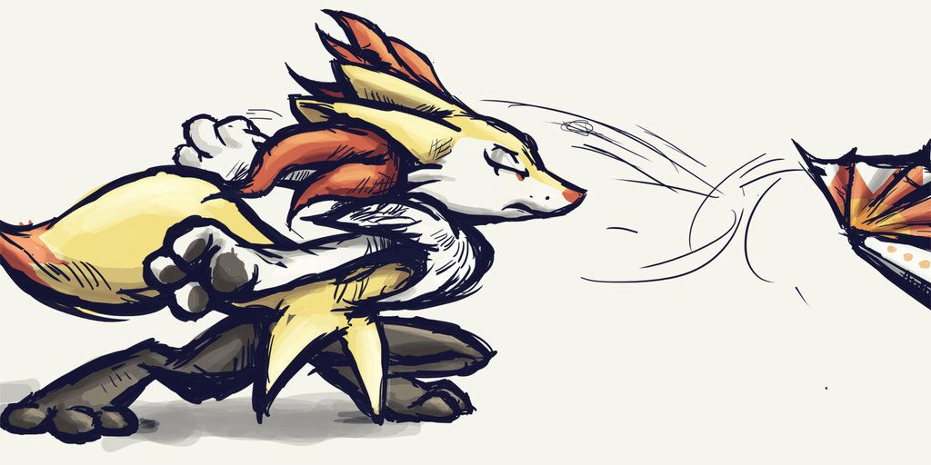 Braixen Kachousen By Rundedeviantart On DeviantArt