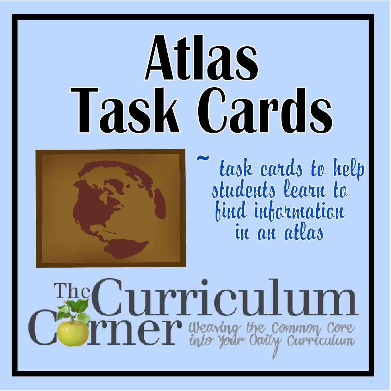 Atlas Task Cards