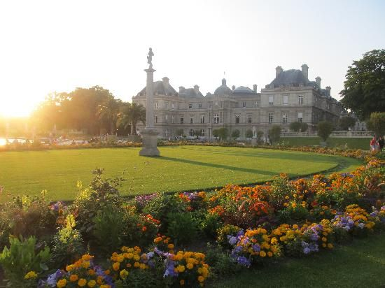 Luxembourg Gardens in paris france the most beautiful elegant gardens in all of france. A must see.