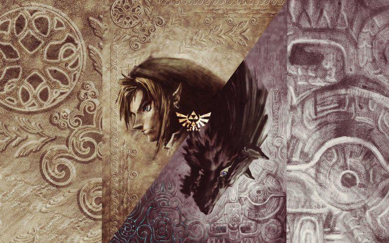 The Legend Of Zelda Twilight Princess Video Game Artwork Link