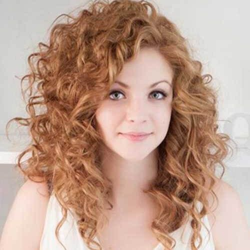Strawberry Hair Forever 50 Breathtaking Lovely Ways To Sport It Hair Motive Hair Motiv In 2020 Curly Hair Styles Curly Hair With Bangs Curly Hair Styles Naturally
