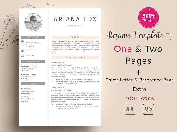 Professional Resume Template by Quality Resume on @mywpthemes_xyz - reference page template resume