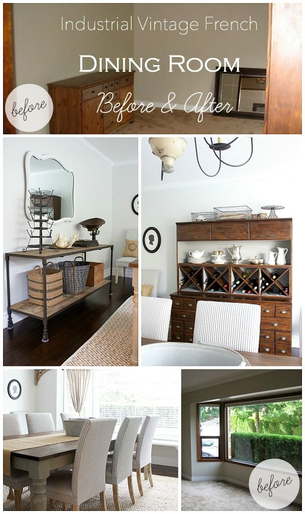 Nice Industrial Vintage French Dining Room With Source Guide