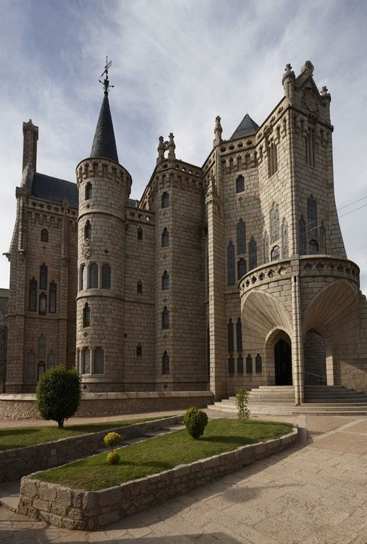 Episcopal Palace - Astorga, Spain