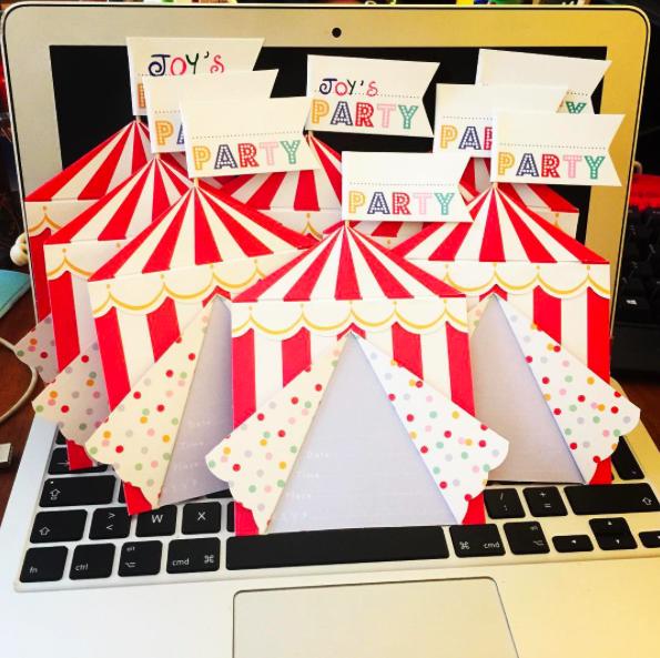 fête anniversaire cirque