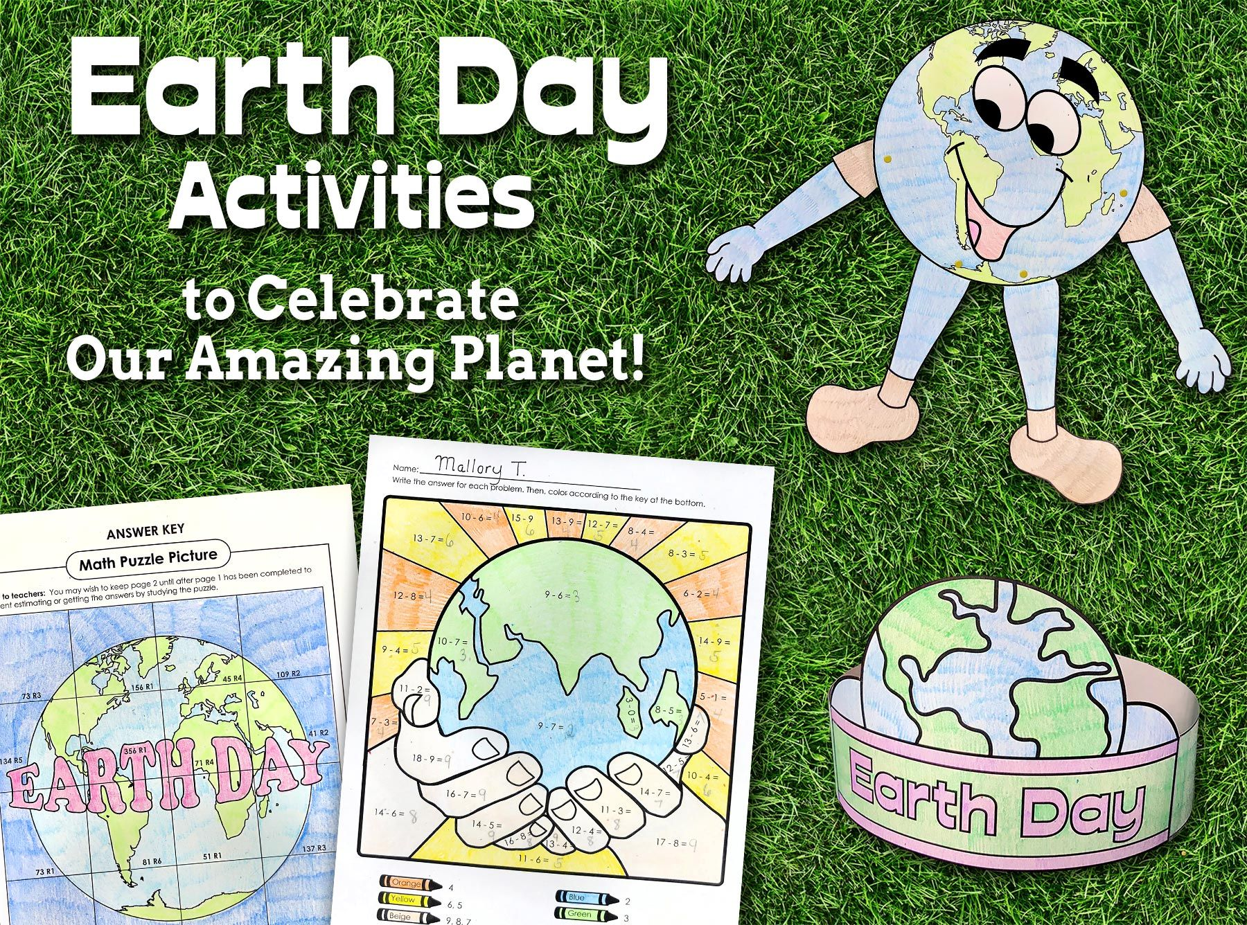 Celebrate Earthday In Your Classroom With Fun And