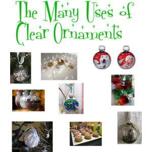 E l l e S e e s: DIY: The Many Uses of Clear Ornaments