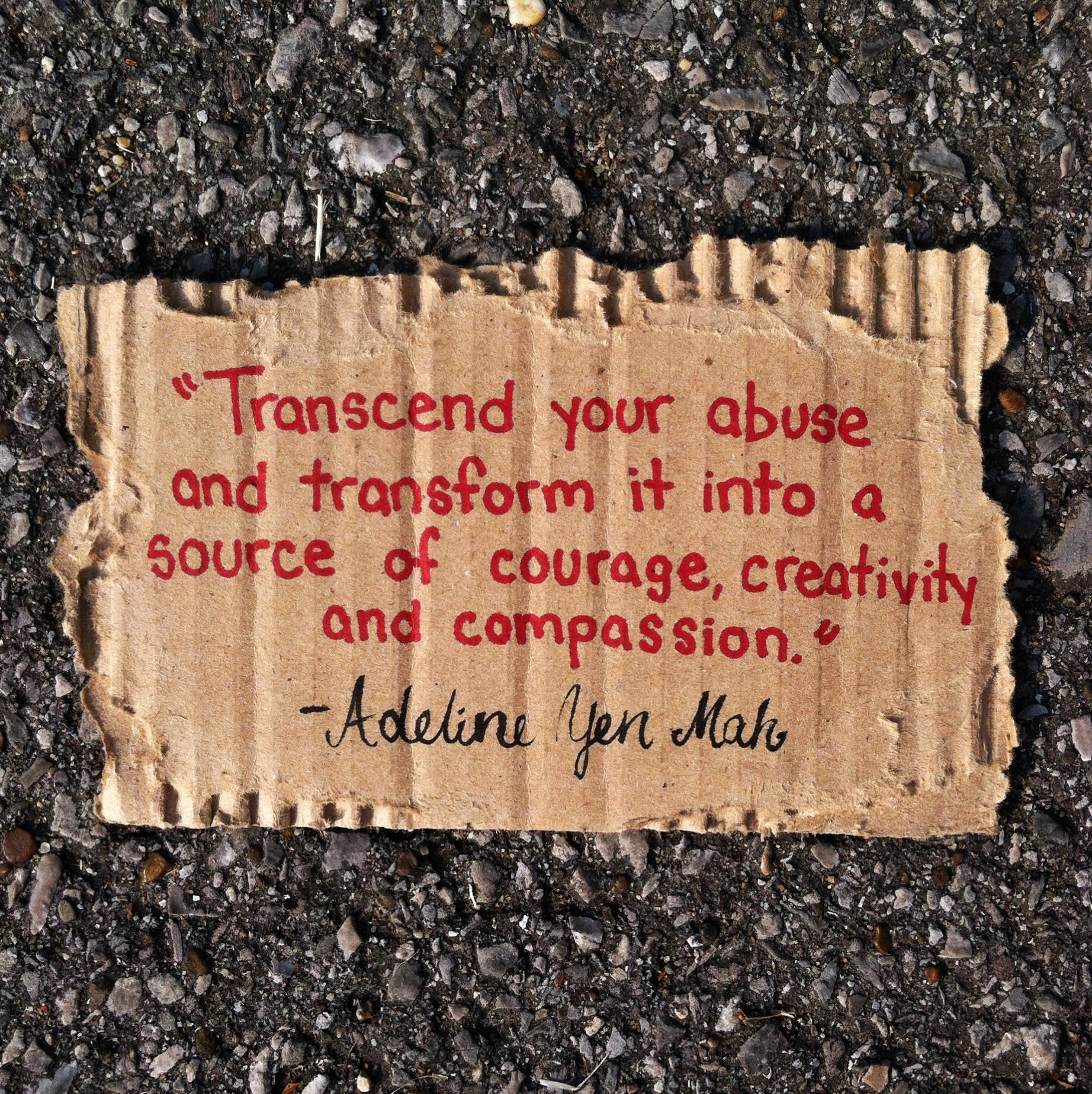 Transcend your abuse and transform it into a source of courage transcend your abuse and transform it into a source of courage creativity and compassion fandeluxe Image collections