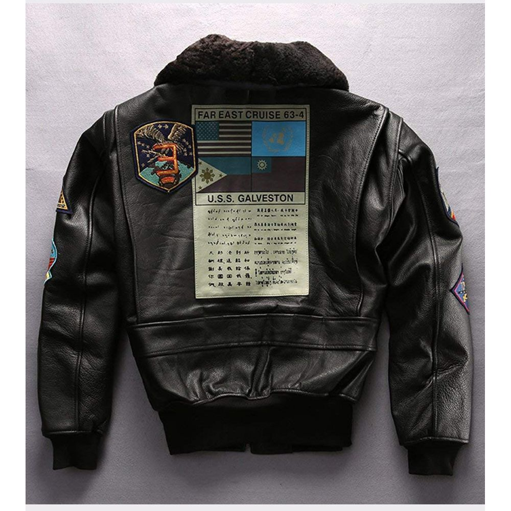 Pin On Leather Flight Jacket [ 1000 x 1000 Pixel ]