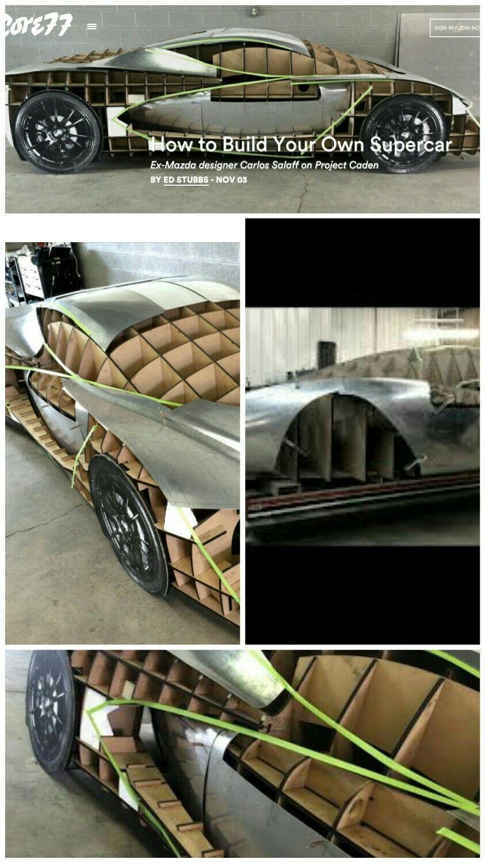 How To Build A Supercar Car Frames Car Projects Automotive Design