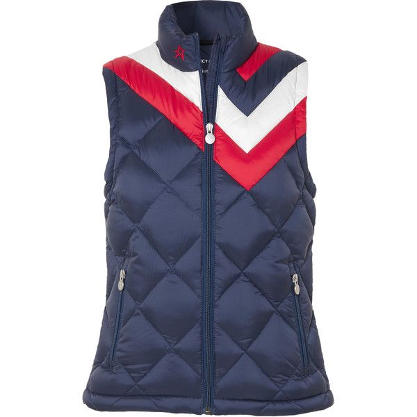 Vale Quilted Down Vest - Navy Perfect Moment Clearance Pre Order ANwyXHI5