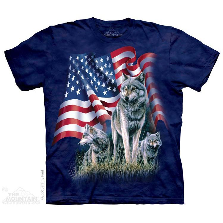 Wolf Flag T-Shirt $22.00 Use code: NWC15 for 15% off. The Mountain T-shirts.
