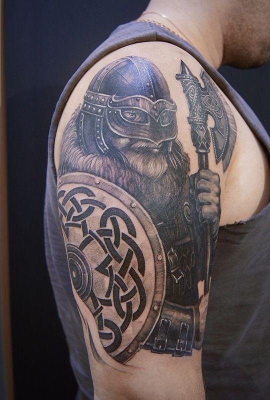 этой тату на плече викингов фото все мне