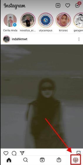 cara repost reels di story instagram