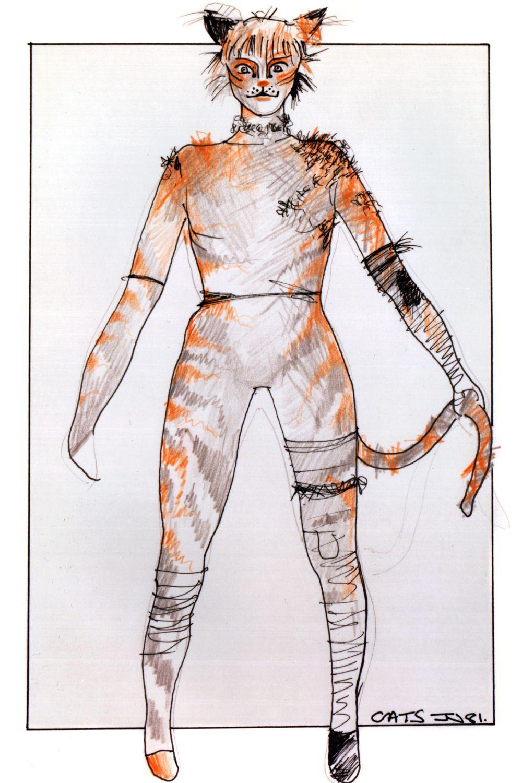 Rumple basic (unlabelled) original costume design, John