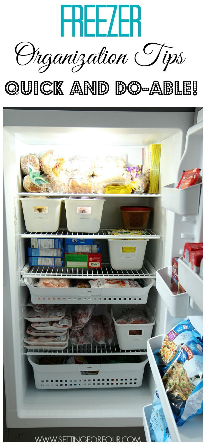 five easy freezer organizing ideas freezer organization on fast and easy ways to refresh your home on a budget id=22055