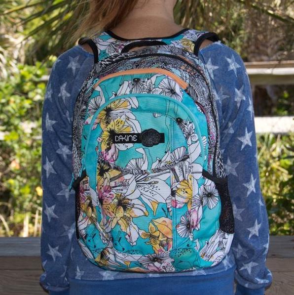 Dakine Girl Garden 20L Backpack - Rogue | backpacks | Pinterest ...