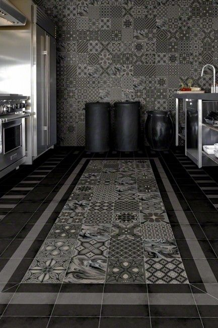 Modern Victorian Kitchen Floor Tiles