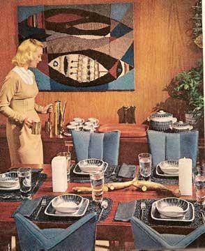 1960 Mid Century Modern Decorating Book Better Homes 1001 Decor
