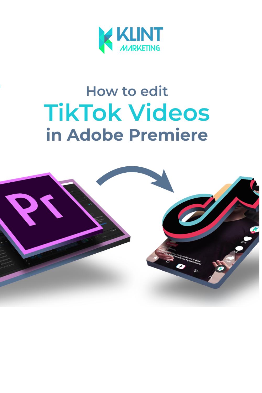 How To Edit Tiktok Videos On Pc Video Editing Dslr Or Mirrorless Shooting Video