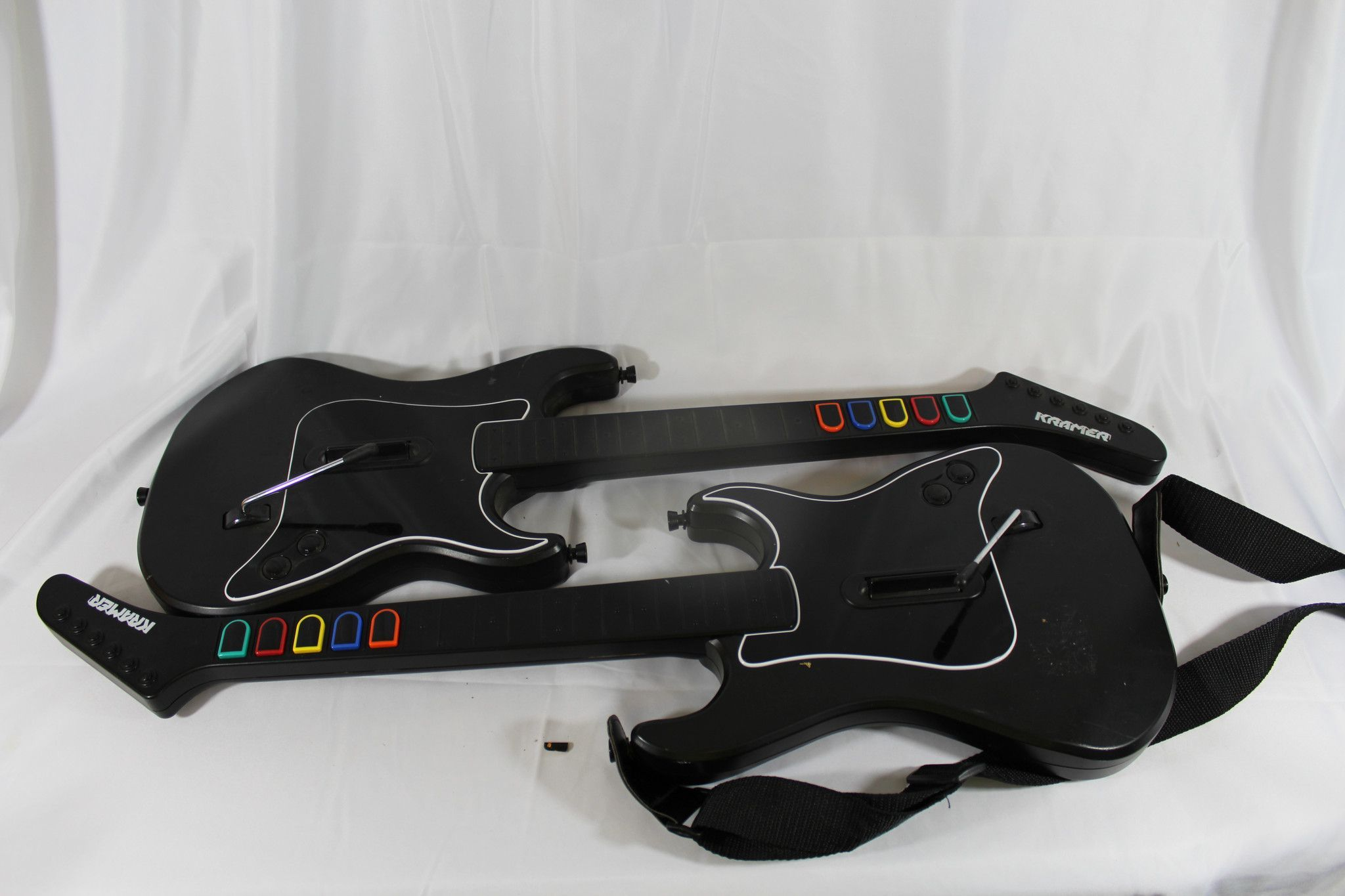 PS2 Kramer Striker x2 Wireless Guitar Controllers for Playstation 2 ...
