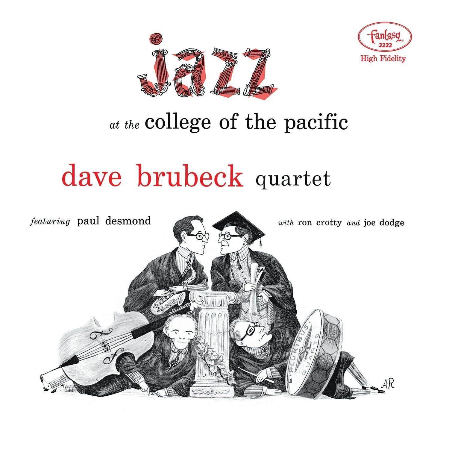 Dave Quartet Brubeck - Jazz At The College Of The Pacific