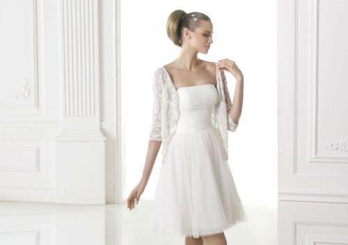pronovias 2015. modelo mia. | vestida p/el civil | vestidos de novia