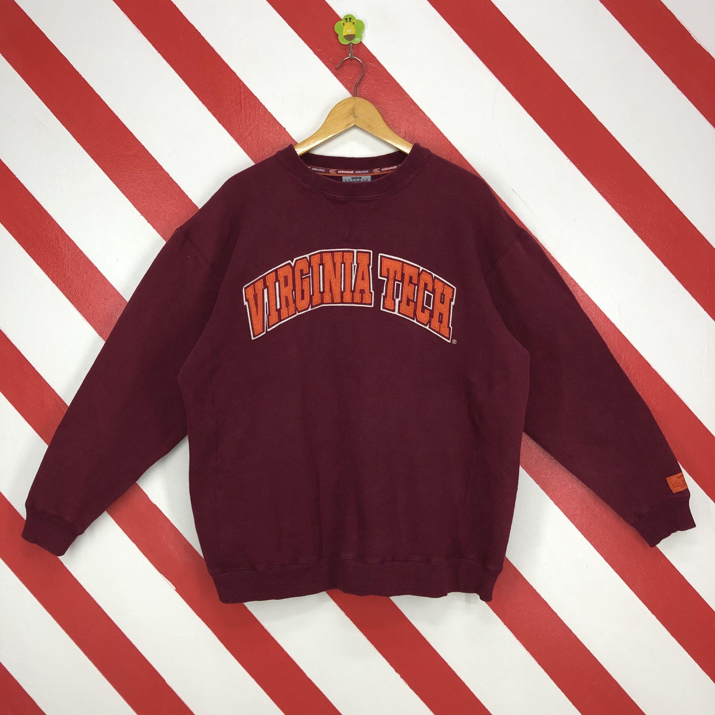 Vintage Virginia Tech Hokies Sweatshirt Crewneck