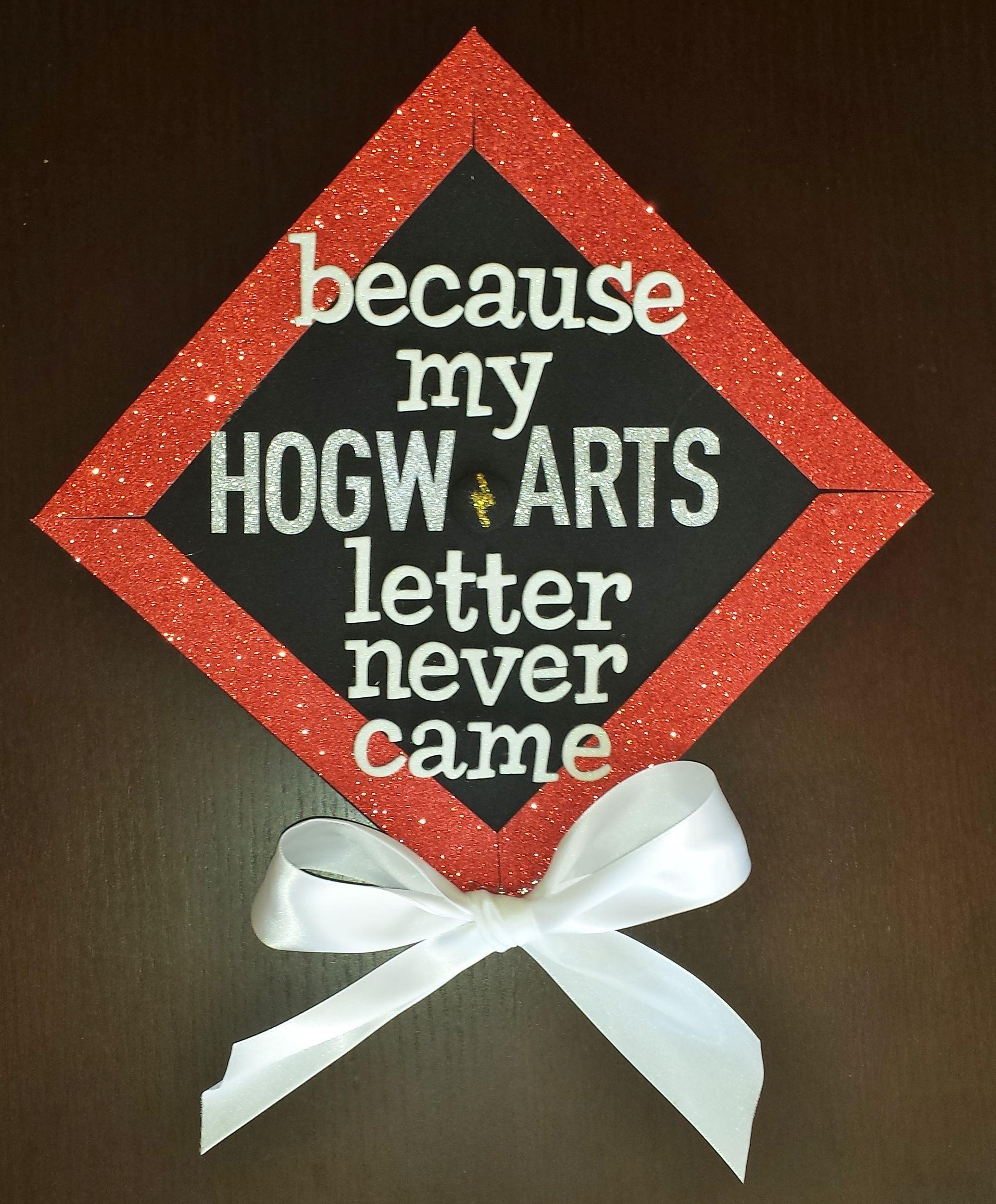 Graduation Cap Decoration Harry Potter Hogwarts Graduation Cap Decoration Graduation Crafts Cap Decorations