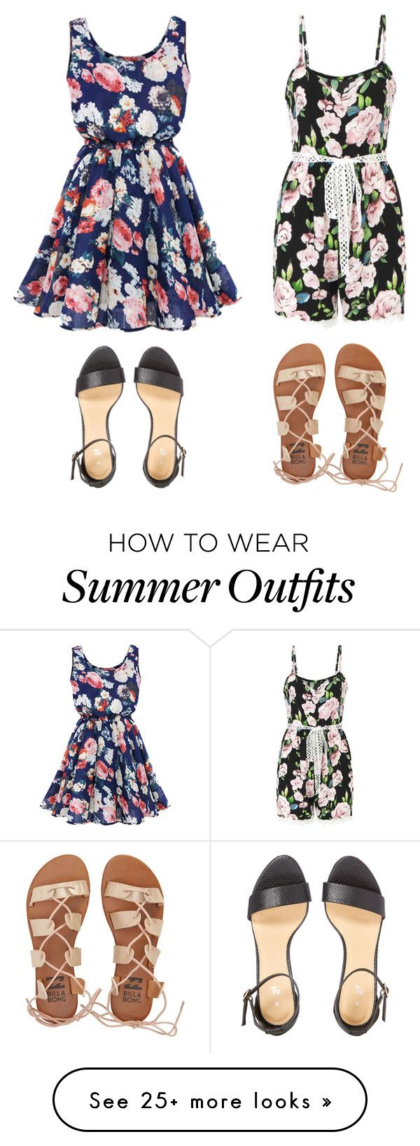 d41a844ad64 Cute Summer Outfits by lsantana13 on Polyvore featuring Billabong