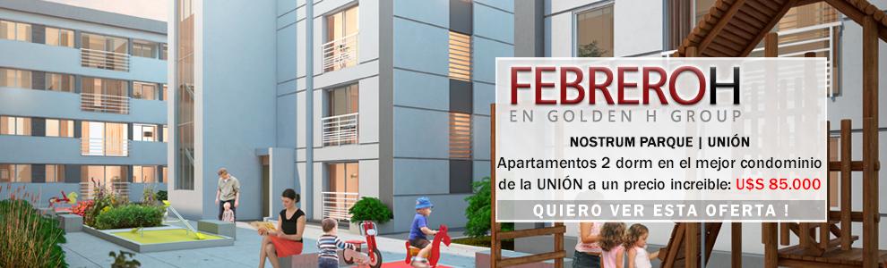 ¡BOMBA! Apartamentos 2 dormitorios en el mejor condominio de la Unión U$S 85.000 Financiados http://goo.gl/A0AzkO