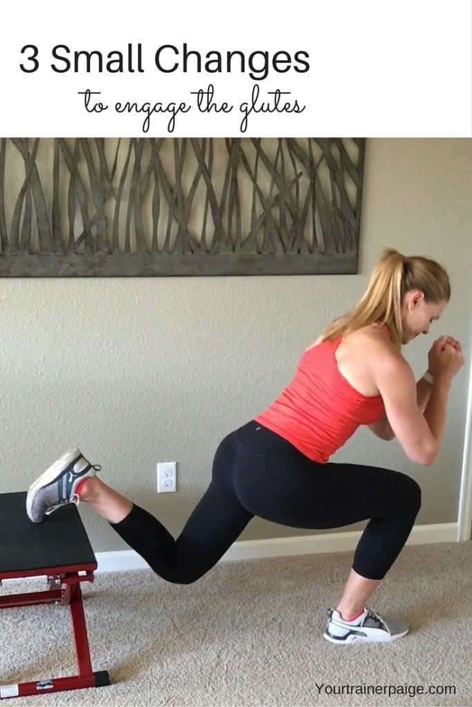 This Small Tweak Will Really Engage The Glutes Paige Kumpf Workout Glutes Fitness Motivation