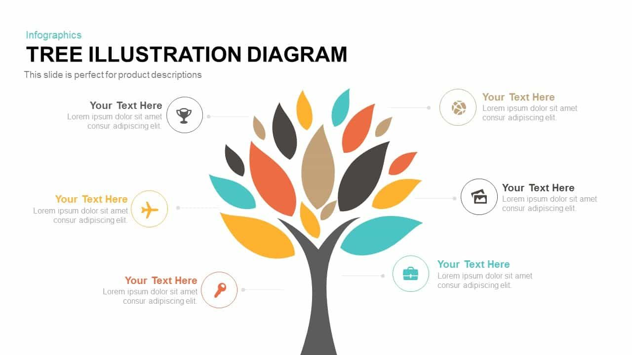 High Quality Tree Diagram Powerpoint Templates Powerpoint Templates Tree Diagram Tree Illustration Tree diagram template powerpoint free download