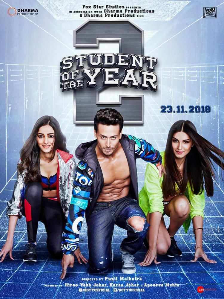 Student Of The Year 2 First Look, Poster, Images