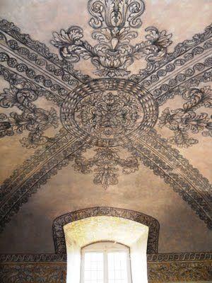 La chaise dieu salle de l 39 cho above pinterest ceilings door gate and art walls - Hotel de l echo la chaise dieu ...
