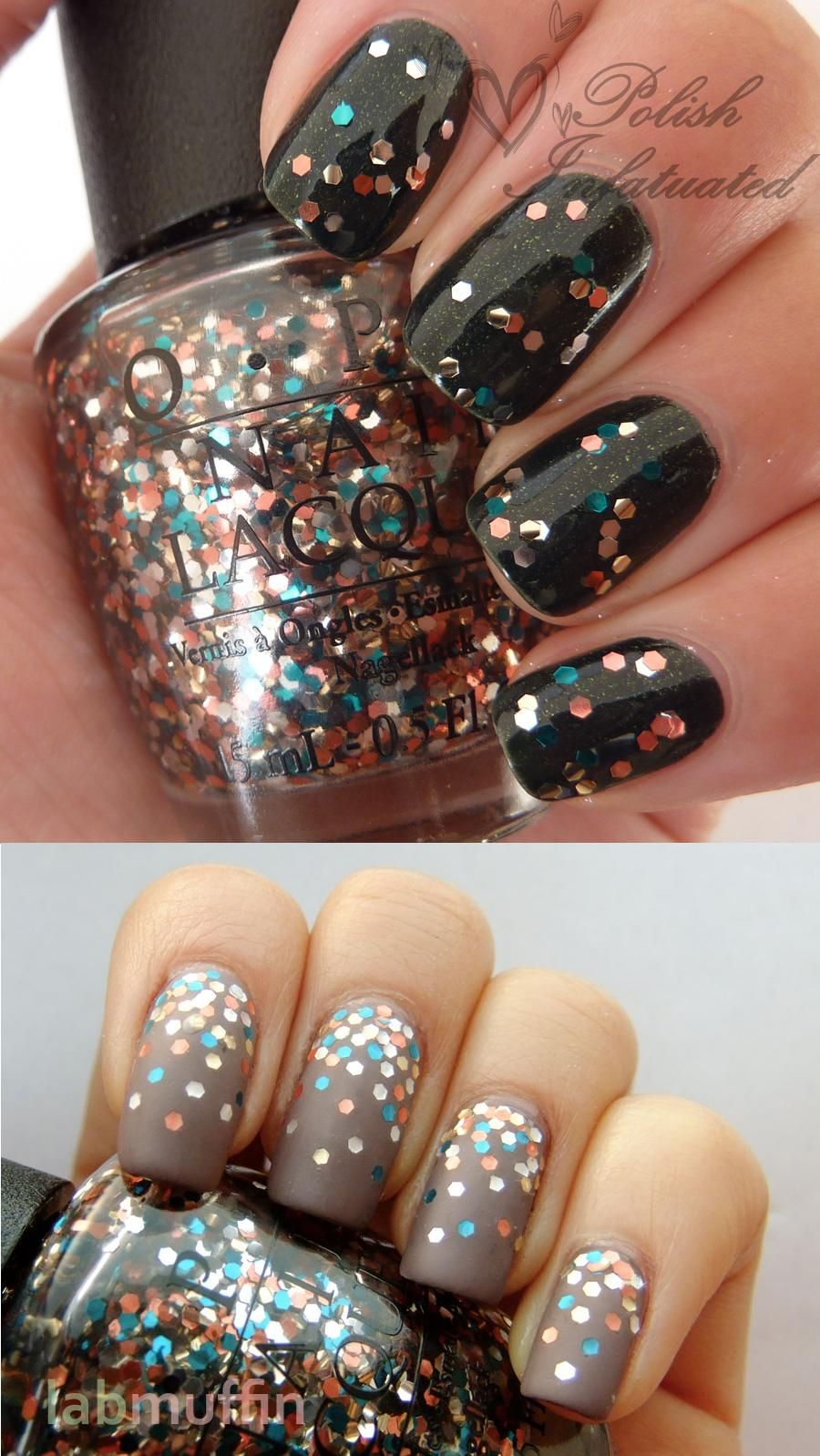 The Living Daylights (glitter) from the James Bond inspired OPI ...