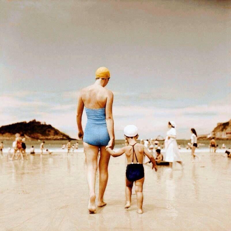 Playa de la concha 1951