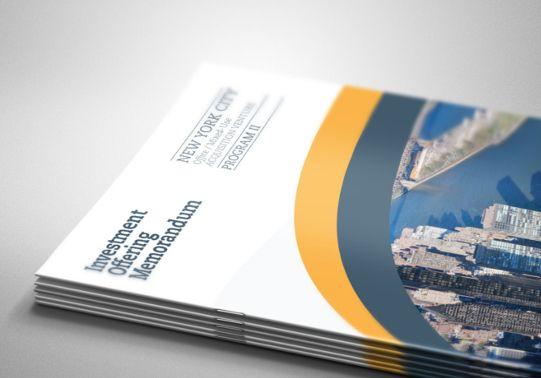 Cover Investment Memorandum #CRE Design Inspiration Pinterest - memorandum